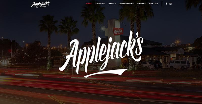Applejacks Website by Eazy Digital